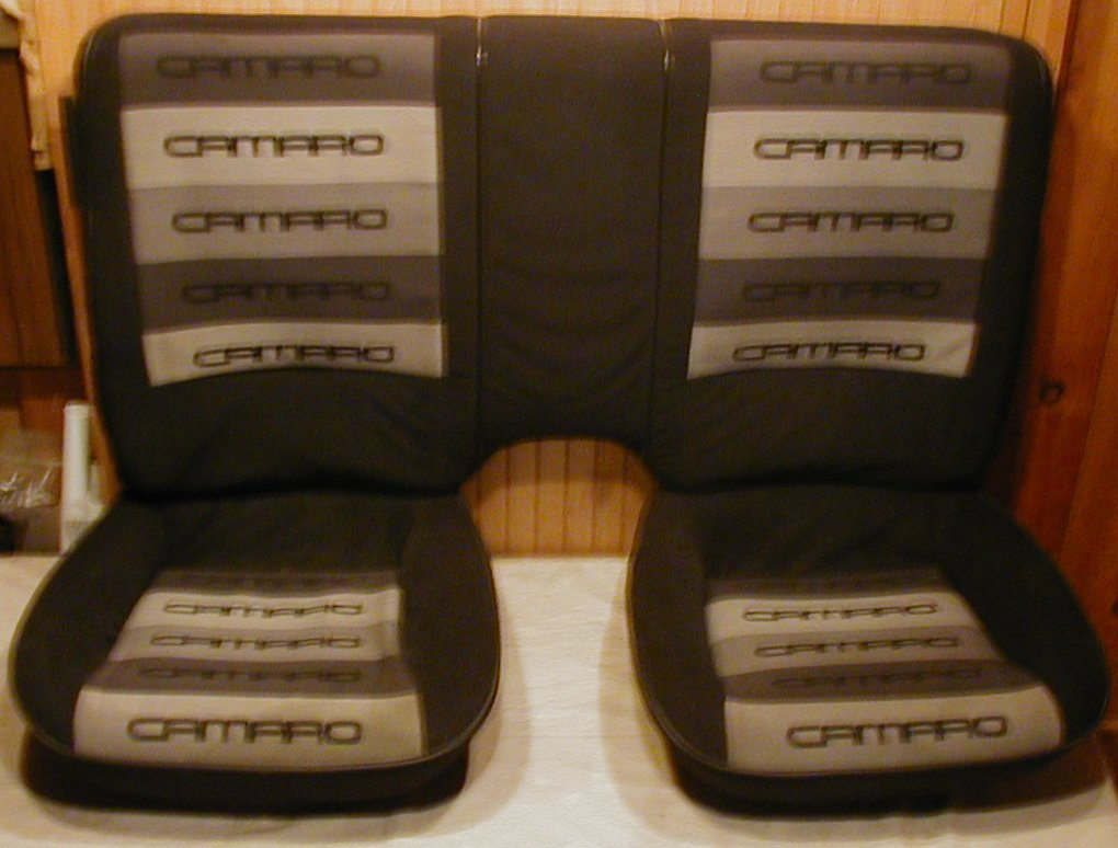 3rd Gen Back Seats In A 4th Gen Ls1tech Camaro And