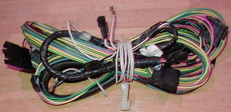 camaro berlinetta irc z28 wiring harness dash body engine ecm