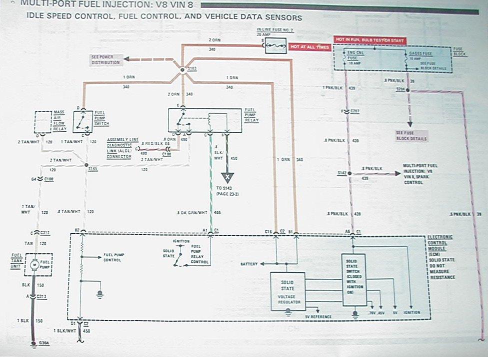 1989 camaro fuel pump wire diagram  1989  free engine 88FuelPump