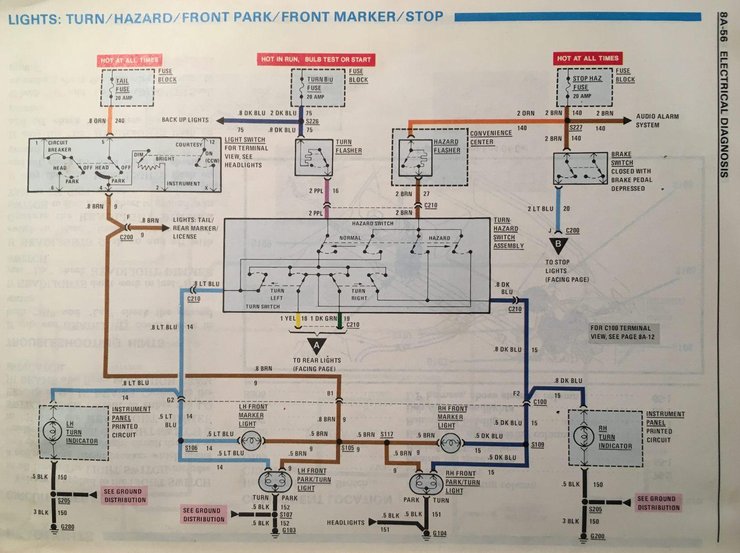 1982 Camaro Fuse Box  Wiring Question