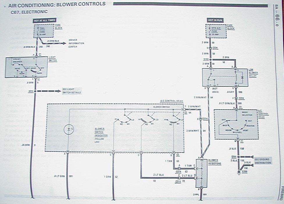 1967 Chevrolet C10 Blower Motor Resistor Wiring Diagram from berlinetta.info