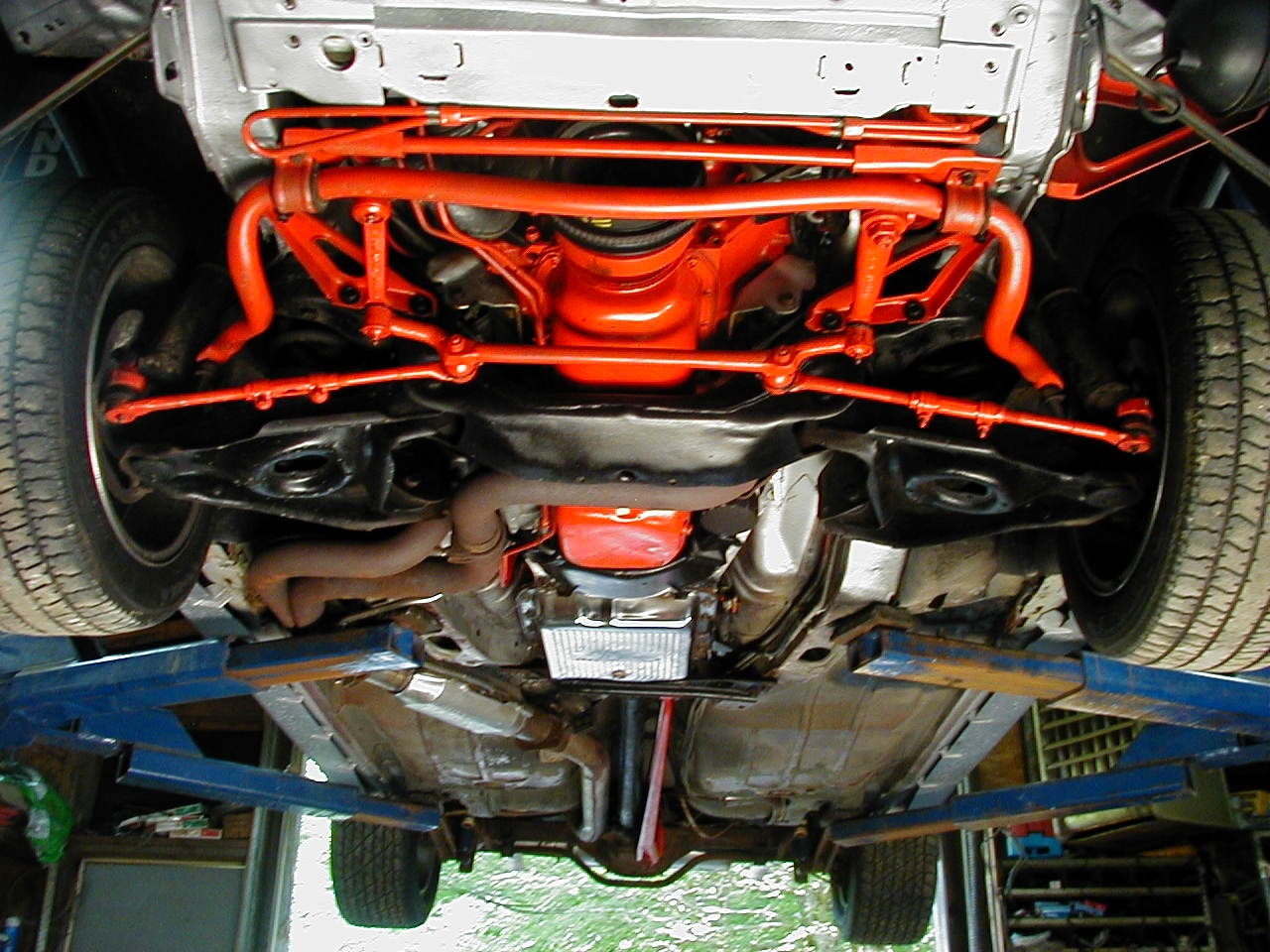 Frame Crack By Steering Gear Third Generation F Body