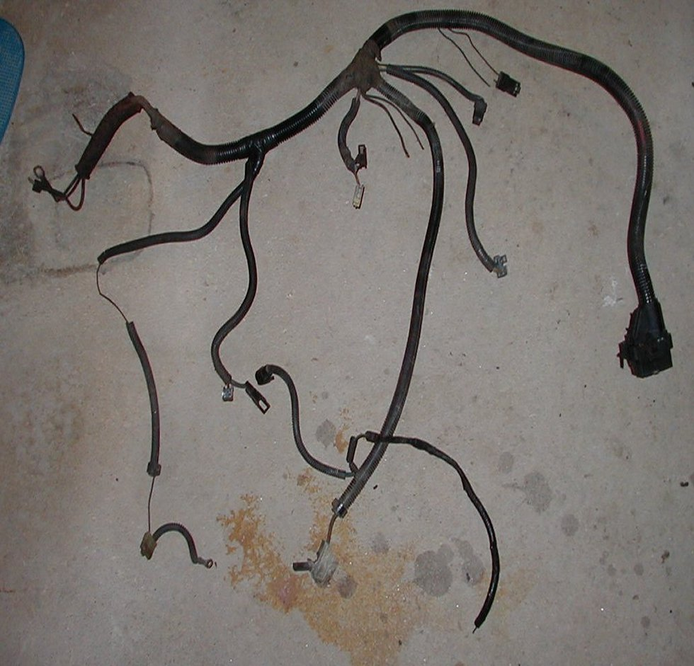 where can i a engine bay wiring harness for my camaro this is an 88 z28 tbi engine ecm harness has c100 and ecm connectors
